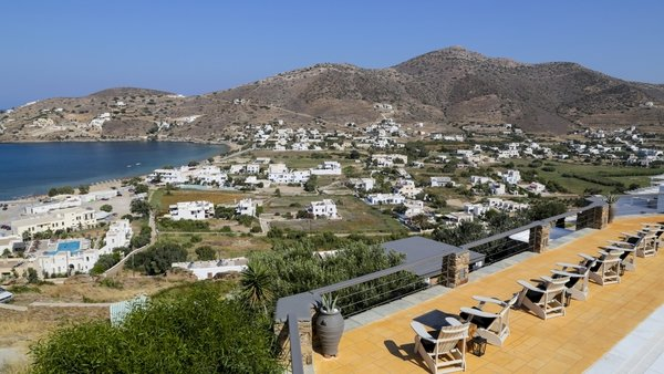 The Limerick teenager was on holidays on the island of Ios (file pic)