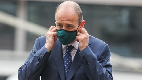 Taoiseach Micheál Martin said there was a 'responsibility to protect those who are not vaccinated' (Pic: RollingNews.ie)