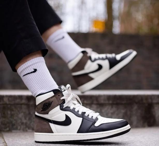 Nike Jordan 1 High Mocha, £599.99, The Edit LDN (The Edit LDN/PA)