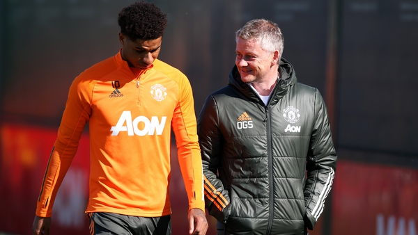 The United manager backs his star forward to come back strongly