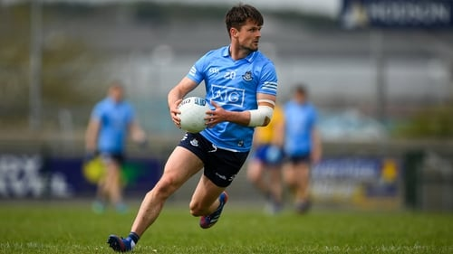 Eric Lowndes made his senior debut with Dublin in 2015