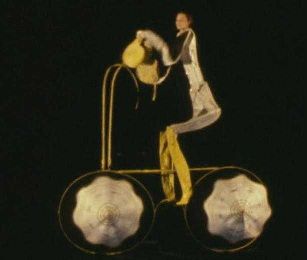 Scene from 'The Spectacles' Black Theatre of Prague on 'Off The Wall' (1981)