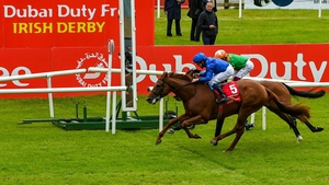 Hurricane Lane got up in the shadow of the post in the Irish Derby last time out