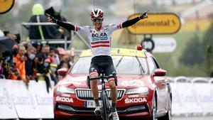 Austria's Patrick Konra won in Saint-Gaudens