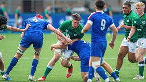 Ireland finished third in the table following wins over Scotland, Wales and Italy