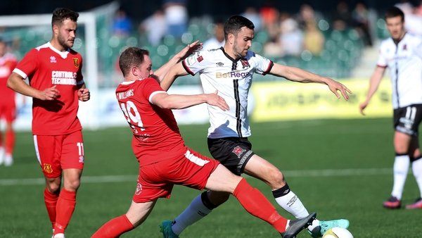 Dundalk eased through 1-0 on the day and 5-0 on aggregate against Welsh outfit Newtown