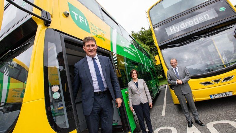 RTE: €2.4m for three hydrogen buses in drive for clean fuel.