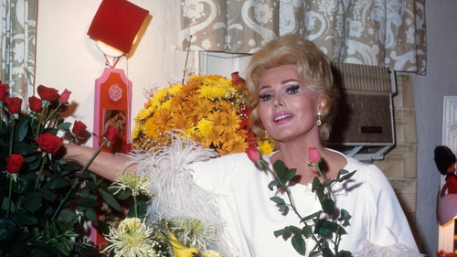 Zsa Zsa Gabor (seen here in Los Angeles in October 1969) - Had suffered poor health in her later years