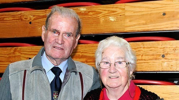 Councillor Ian McGarvey and his wife Marjorie (Pic courtesy of The Tirconaill Tribune)