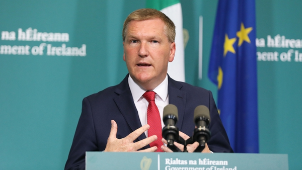 Michael McGrath updated the Cabinet on Government spending