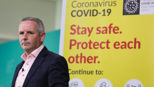 Paul Reid said 60% of patients with the virus in ICUs are aged over 50 (file image RollingNews.ie)
