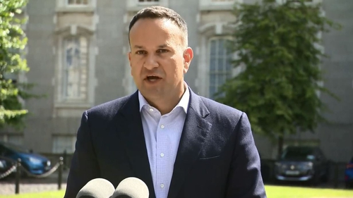 Leo Varadkar said that index linking income tax credits and bands is in the Programme for Government