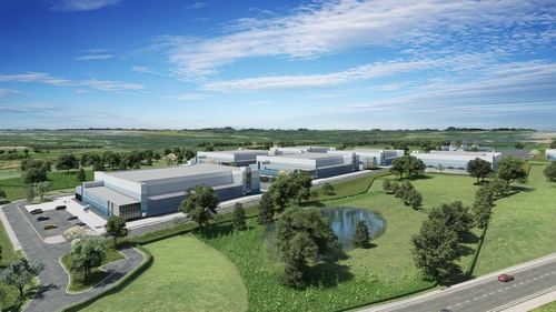 The six two storey data centre buildings are to be a maximum height of 19 metres or 62 feet