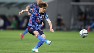 Kyogo Furuhashi has been in a rich vein of form in the J1 League this season