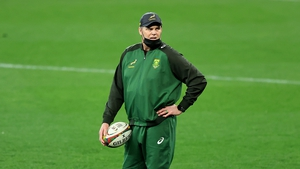 The South Africa director of rugby posted two videos to social media