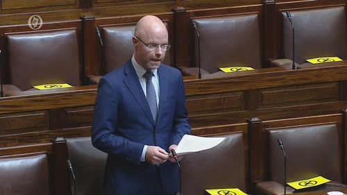 Stephen Donnelly said that the change to the policy would apply to the July 2022 postgraduate intake recruitment process