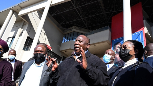 President Cyril Ramaphosa said the government was doing all it could to deal with the turmoil
