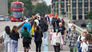 UK economic output rose just 0.1% in July, the Office for National Statistics said today