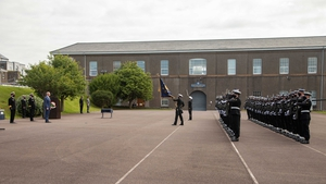 The latest class of cadets were commissioned as officers at a ceremony today