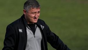Georgia's head coach Levan Maisashvili