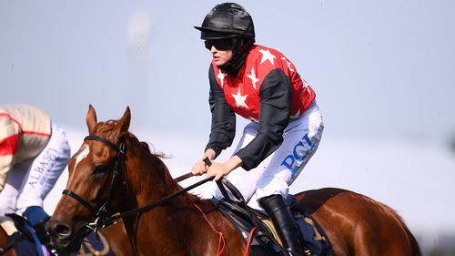Rachael Blackmore leads Danny Mullins, who suffered an injury of his own last week, in the jockeys' championship