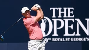 Rory McIlroy shot 38 on the back nine at Royal St George's