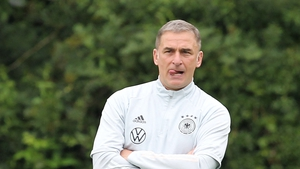 German manager Stefan Kuntz said that playing on was not an option