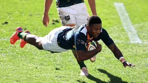Wandisile Simelane scores for South Africa 'A'