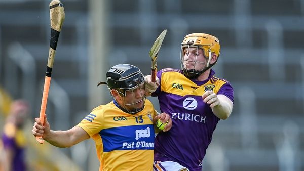 Clare advanced against Wexford