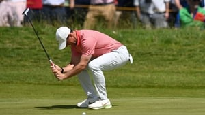 """Rory McIlroy: """"There are some diabolical pins out there today."""""""