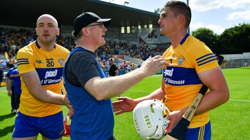 Brian Lohan's Clare will now meet Cork in Round 2 of the hurling qualifier draw