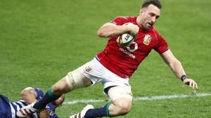Jack Conan scored the Lions' fourth try