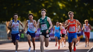 Longford athlete Cian McPhillips claimed the 1500m gold in Estonia