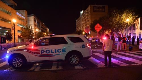 Police said three people had been shot