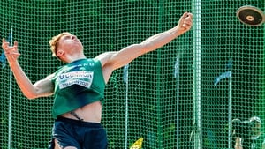Diarmuid O'Connor finished fourth in the decathlon