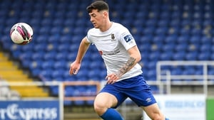 Cian Kavanagh scored the only goal of the game at the RSC