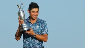 Collin Morikawa has won the Claret Jug on his first attempt