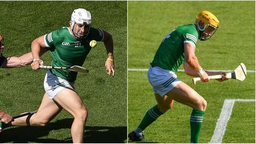 Aaron Gillane (l) and Seamus Flanagan were both yellow carded
