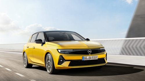 The new Astra arrives early next year.