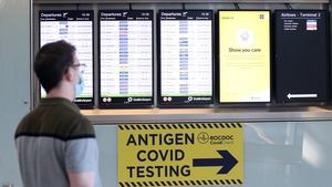 Passengers arriving at Dublin airport (File photo / RollingNews)