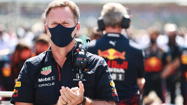 Red Bull team principal Christian Horner was critical of Hamilton after the incident