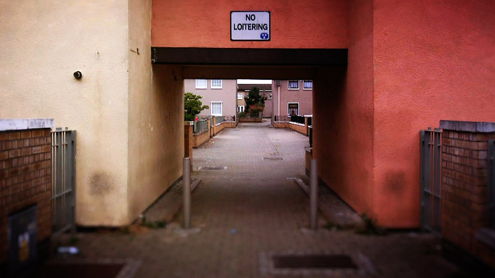 Image - There are multiple escape routes from Dolmen Court, an area where senior citizens live