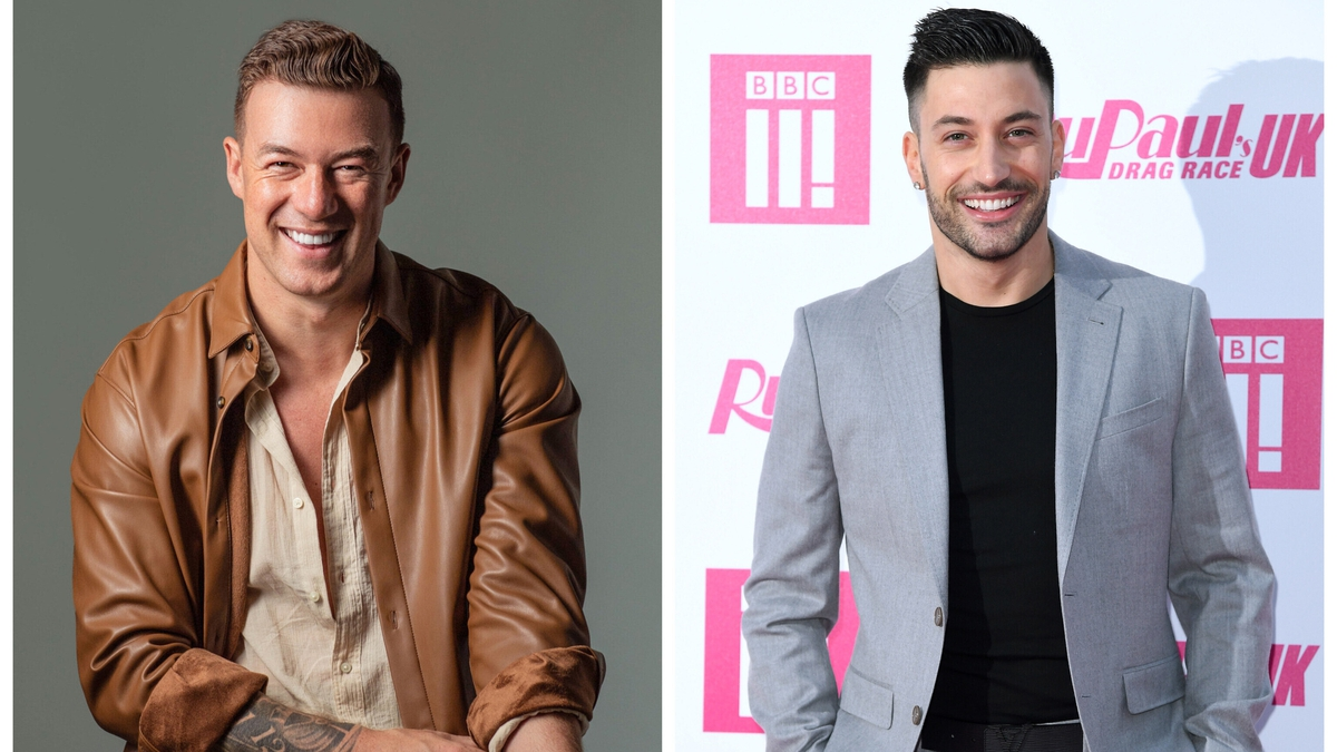 """(L-R) Kai Widdrington and Giovanni Pernice - """"When it comes down to it, it'll be a little bit competitive"""""""