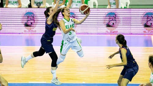Dayna Finn was Ireland's top scorer against Andorra with 14 points