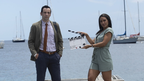 Ralf Little and Joséphine Jobert - Rounding off Death in Paradise's tenth anniversary in style