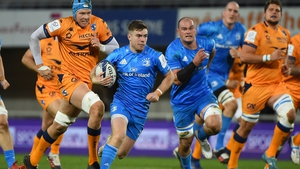 Leinster took on Montpellier last December