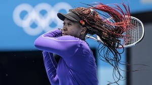 Naomi Osaka is preparing for the Olympics, where she will represent home nation Japan