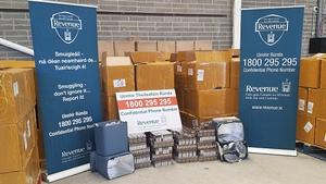 1.6 million cigarettes seized by Revenue