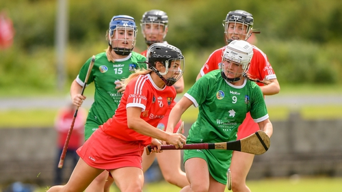 Saoirse McCarthy of Cork in action during their 4-20 to 2-09 Munster final win over Limerick