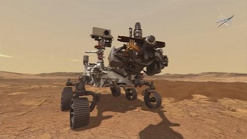NASA's Mars rover Perseverance.
